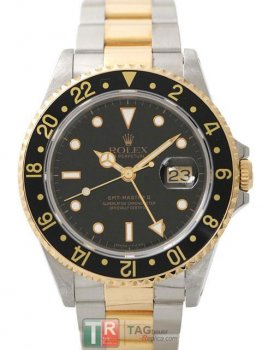 ROLEX GMT-MASTER II 16713 Black Dial Replica Men's Watch