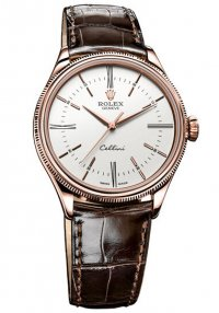 Rolex Cellini Time Everose Gold Watch 50505 wbr Replica