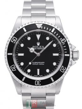 Replica ROLEX SUBMARINER 14060 Black Dial Automatic Watch 1999