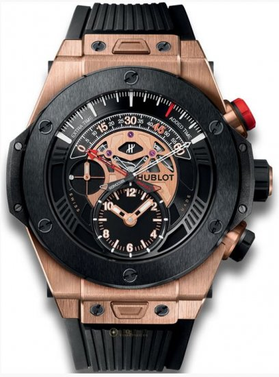 Hublot Big Bang Unico Bi-Retrograde Chrono King Gold Ceramic Watch Replica