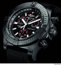 Breitling Avenger Seawolf Chrono Blacksteel Watch