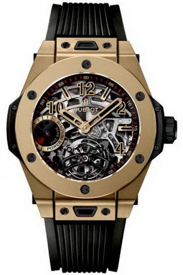 Hublot Big Bang Tourbillon 5-Day Power Reserve Full Magic Gold Watch Replica