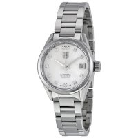Tag Heuer Carrera Automatic White Dial Stainless Steel Ladies Watch WAR2414.BA0776