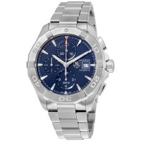 Tag Heuer Aquaracer Automatic Chronograph Blue Dial Stainless Steel Men's Watch CAY2112.BA0927