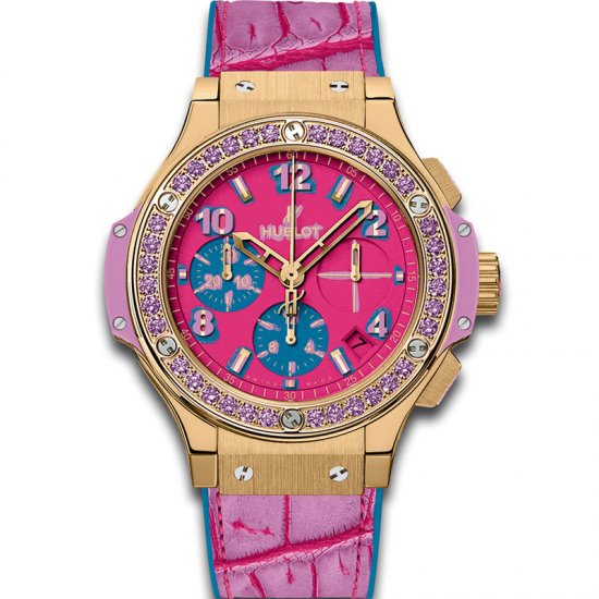Hublot Big Bang Pop Art Yellow Gold Purple 341.VV.7389.LR.1205.POP15