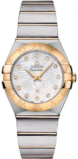 Omega Constellation Pluma Quartz 27 mm 123.20.27.60.55.008 Fake