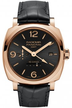 Panerai Radiomir 1940 10 Days GMT Automatic Oro Rosso PAM00625