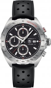 Tag Heuer Formula 1 Automatic Black Dial Stainless Steel Men's Watch CAZ2010.FT8024