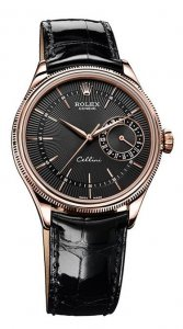 Rolex Cellini Date Everose Gold Watch 50515 bkbk Replica