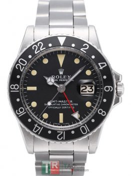 ROLEX GMT-MASTER II 1675A Black Dial Automatic Replica Watch