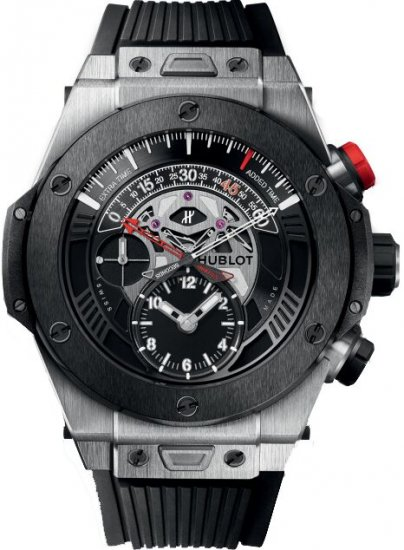 Hublot Big Bang Unico Bi-Retrograde Chrono Titanium Ceramic Watch Replica