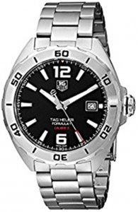 Tag Heuer Formula 1 Automatic Black Dial Stainless Steel Men's Watch WAZ2113.BA0875