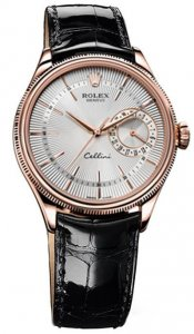 Rolex Cellini Date Everose Gold Watch 50515 sbr Replica