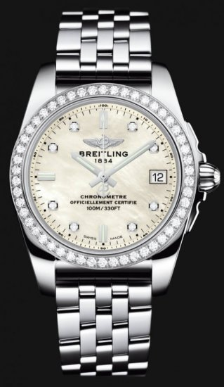 Breitling Galactic 36 A7433053/A780-376A Womens\' Watch