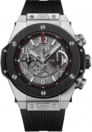 Hublot Big Bang Unico Titanium Ceramic Skeletal Dial Men\'s Watch Replica