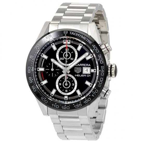 Tag Heuer Carrera Chronograph Automatic Men\'s Watch CAR201Z.BA0714