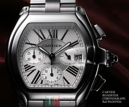 Cartier ROADSTER CHRONOGRAPH W62019X6