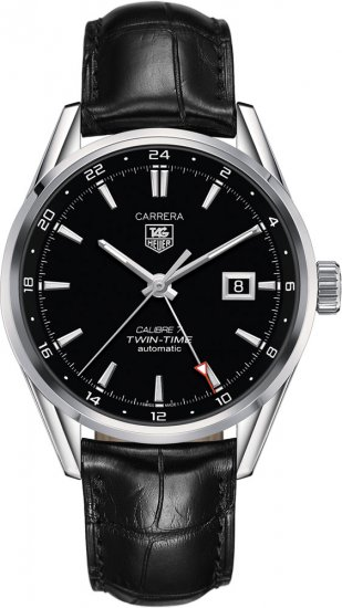 TAG Heuer Carrera Calibre 7 Twin-Time Automatic 41 mm Replica