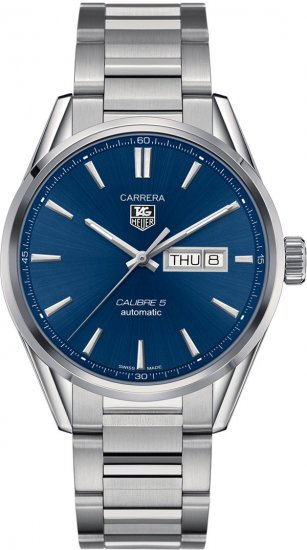 Tag Heuer Carrera Blue Dial Stainless Steel Men\'s Watch WAR201E.BA0723