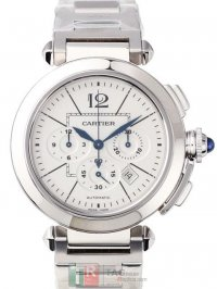 Cartier Pasha 42mm Automatic Chronograph W31085M7