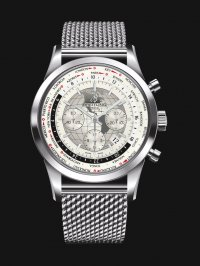 Breitling Transocean Chronograph Unitime AB0510U0/A790/152A Stainless Steel Watch
