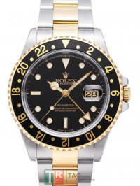 Replica ROLEX GMT-MASTER II Men's Watch 16713B