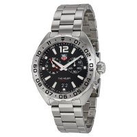 Tag Heuer Formula 1 Chronograph Black Dial Men's Watch WAZ111A.BA0875