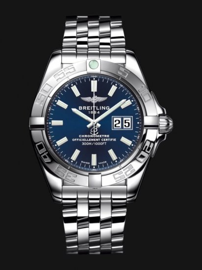 Breitling Galactic 41 Mens A49350L2/C929/366A Watch