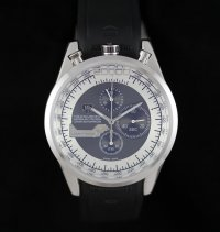 TAG Heuer Mikrogirder 20000 Chronograph White Bazel Black and White Dial