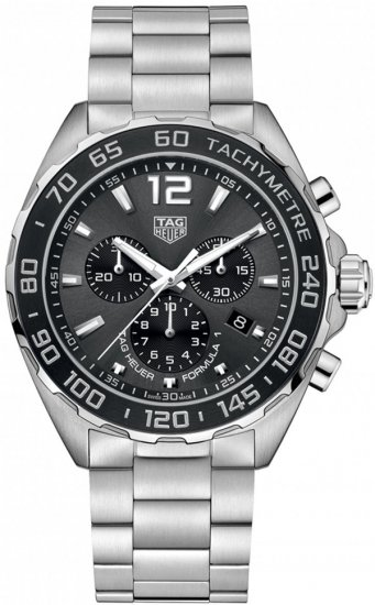 Tag Heuer Formula 1 Chronograph Black Dial Men\'s Watch CAZ1011.BA0842