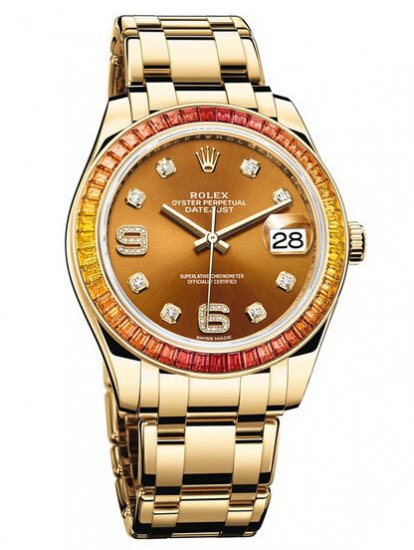 Rolex Oyster Perpetual Datejust Pearlmaster 39 86348SAJOR Fake