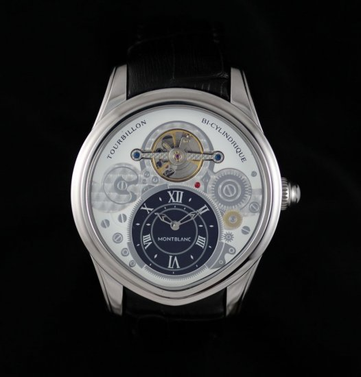 New 2013 Montblanc Tourbillon Bi-Cylindrique Watch