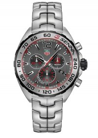 Tag Heuer Carrera Chronograph Anthracite Dial Stainless Steel Men's Watch CBB2010.BA0906