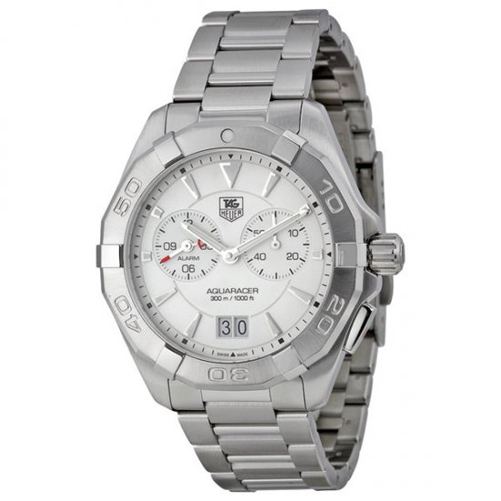 Tag Heuer Aquaracer White Dial Stainless Steel Men\'s Watch WAY111Y.BA0910