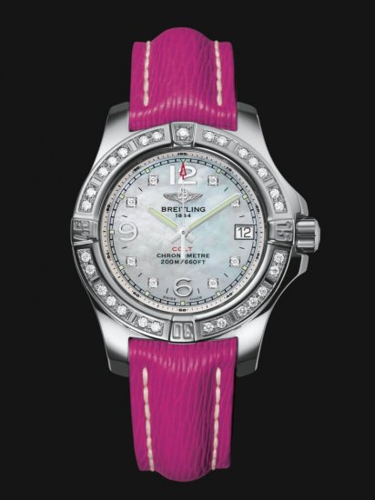 Breitling Colt Stainless Steel Lady A7738853/A769/241X/A14BA.1 Watch