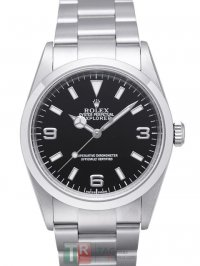 ROLEX EXPLORER II 114270 Black Dial Replica Automatic Watch