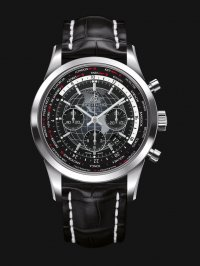 Breitling Transocean Chronograph Unitime Black AB0510U4/BE84/760P/A20BA.1 Watch