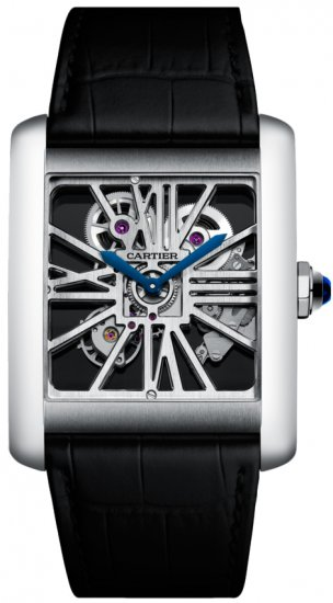 Cartier Tank MC Skeleton Palladium Watch W5310040 Replica