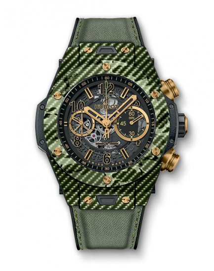 Hublot Big Bang Unico Italia Independent Green Camo 411.YG.1198.NR.ITI16