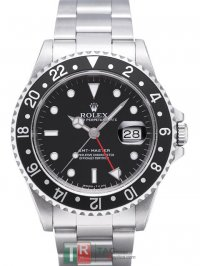 ROLEX GMT-MASTER II 16700 Replica Black Dial Men's Watch