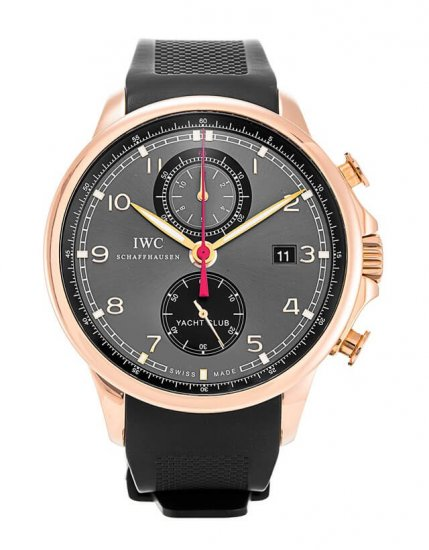 IWC Portuguese Mens Chronograph Automatic Watch IW390202