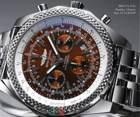 BREITLING BENTLEY MOTORS MOTORS A252Q02SP