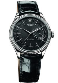 Rolex Cellini Date White Gold Watch 50519 bkbk Replica