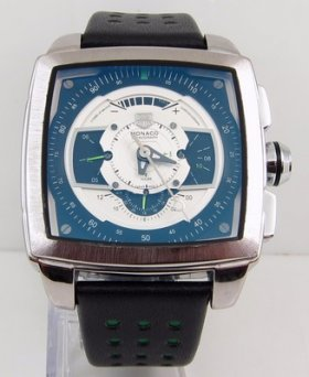 TAG Heuer Monaco CAW2100 Blue and White Watch