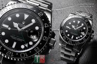 ROLEX GMT-MASTER II 116710LN Black Index Dial Men's Watch