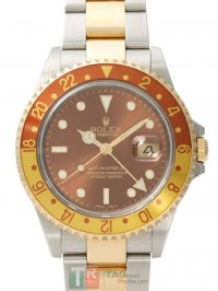 ROLEX GMT-MASTER II 16713A Brown Dial Replica Watch
