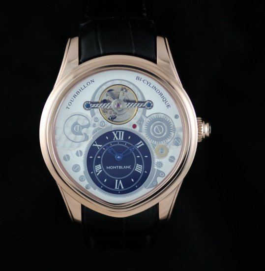 Replica New 2013 Montblanc Tourbillon Bi-Cylindrique Watch