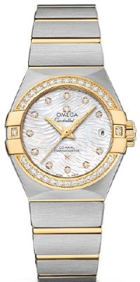 Omega Constellation Co-Axial 31mm 123.25.27.20.55.007 Fake
