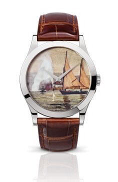 Patek Philippe Calatrava Lakeside Scenes Watch Replica