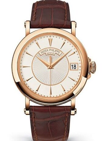 Patek Philippe Calatrava Officers Watch 5153R in Rose Gold Watch Fake